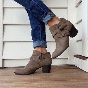 Indigo Rd brown heeled ankle Sableno booti…